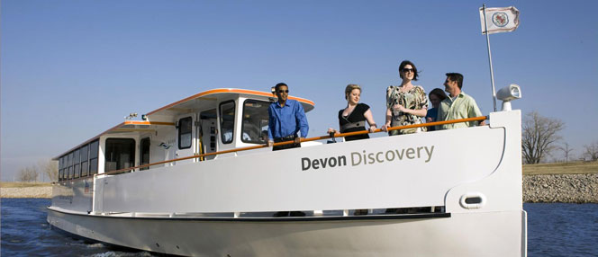 Devon Discovery underway